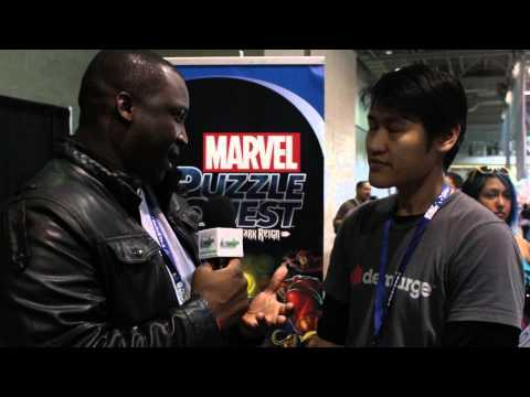 Pax East 2014: Marvel Puzzle Quest Interview