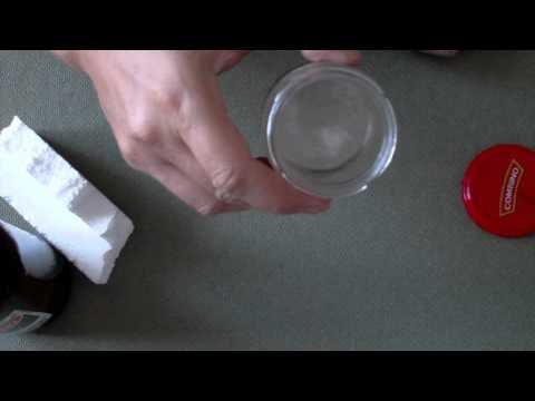 jak zrobić bezbarwny lakier ze styropianu