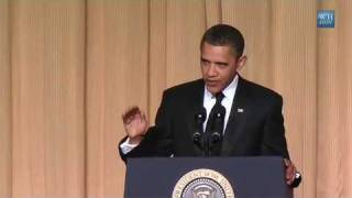 Obama Jokes About Killing Jonas Brothers With Predator
