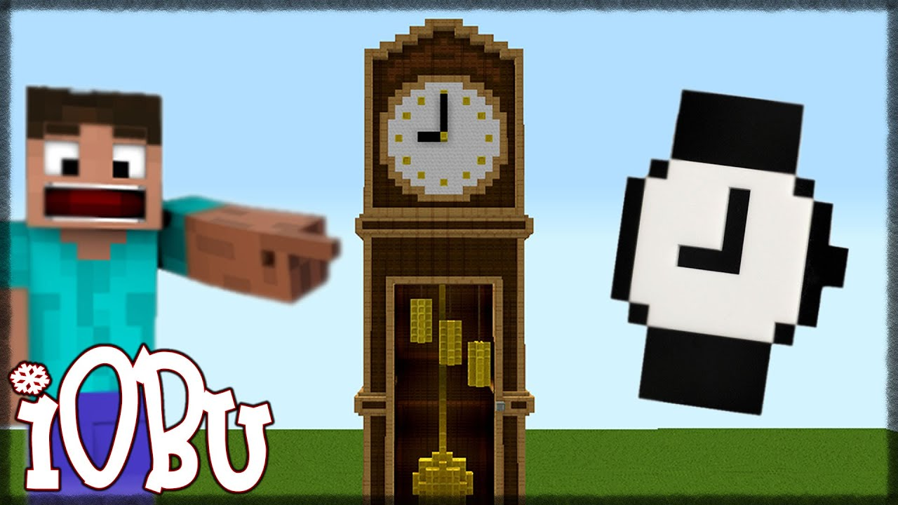 EPIC GRANDFATHER CLOCK! - Minecraft Timelapse