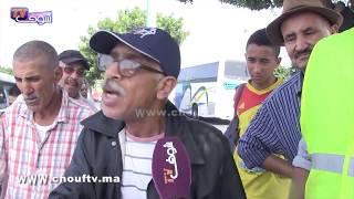 بالفيديو.. المهاجرين من افريقيا جنوب الصحراء دايرين الفوضى بمحطة ولاد زيان وأصحاب الطاكسيات طالع ليهم الدم |