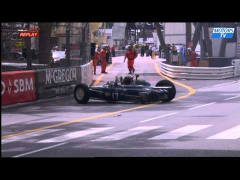 Ferioli Crash @ 2014 Monaco Historic