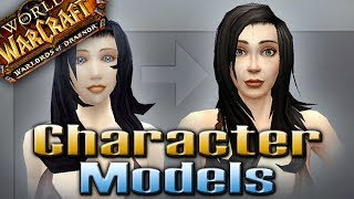 NEW!!! Updated Character Models By QELRIC (Warlords Of