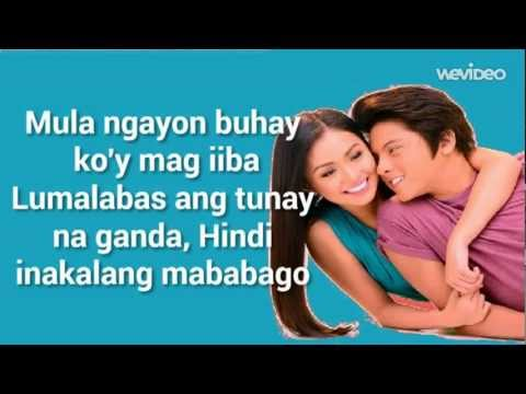 Nagkakulay Ang Mundo (Lyrics Video) - Kathryn Bernardo & Daniel Padilla