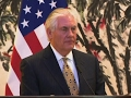 Tillerson Urges China to Cooperate on NKorea