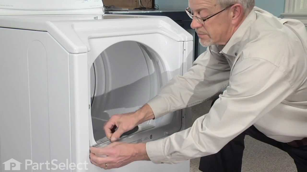 Maytag Dryer Replacing Belt On Diagram