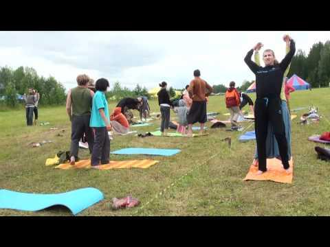 """Парная йога. 2-е занятие (фестиваль """"Энергия Жизни"""")"""