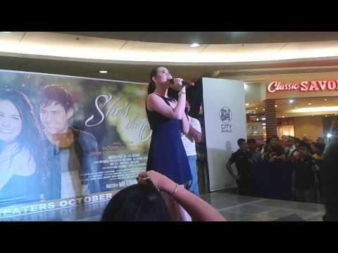 Dingdong Dantes and Bea Alonzo for She's the One Mall Show at SM City Manila