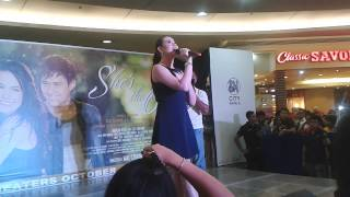 Dingdong Dantes And Bea Alonzo For She's The One Mall Show