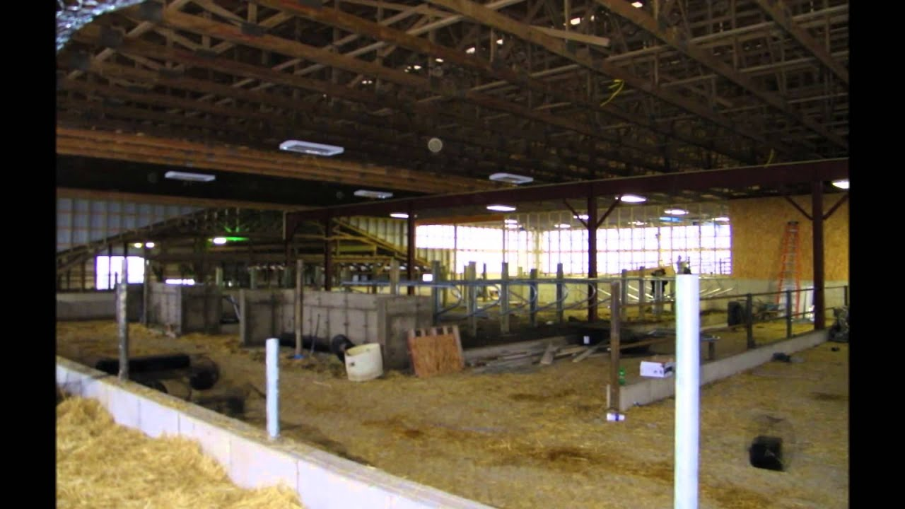 Usa Pole Barns Livestock Barns Youtube