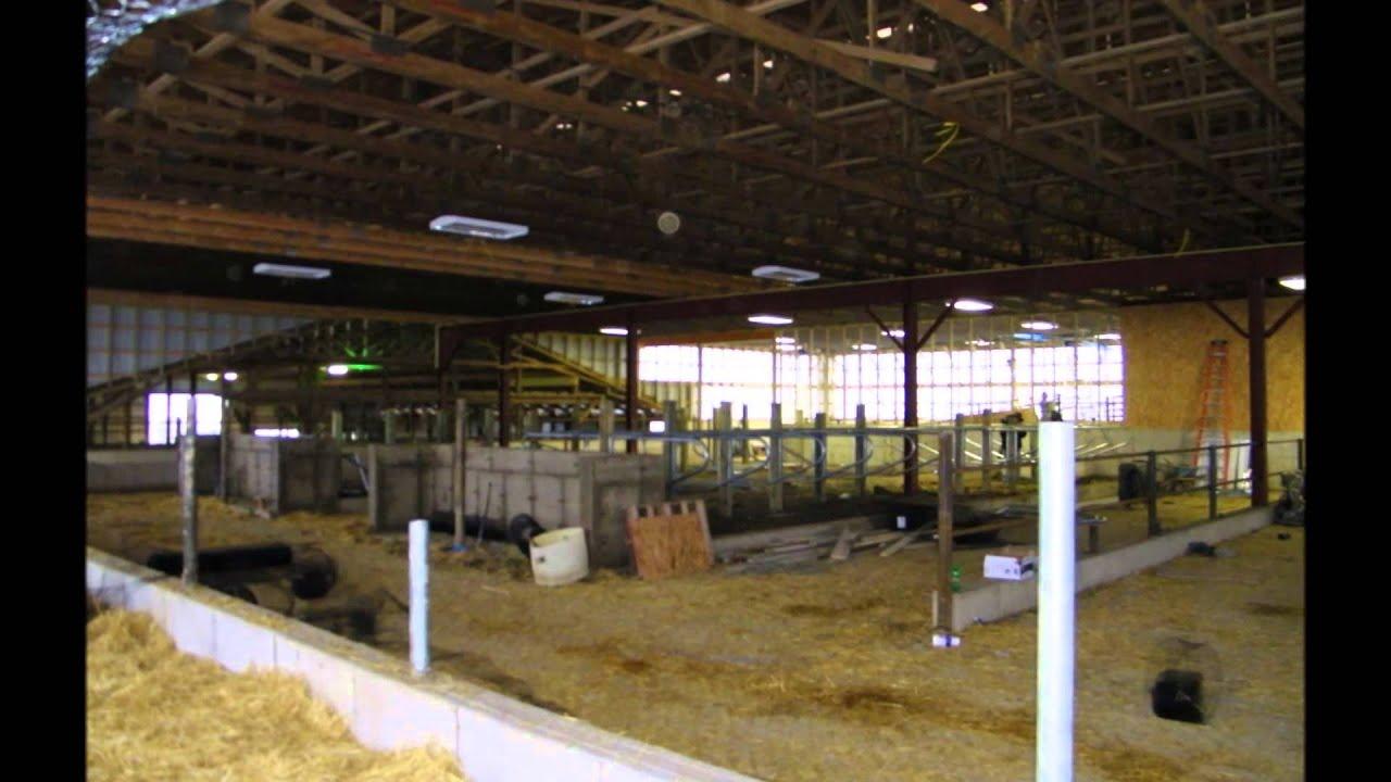 Usa pole barns livestock barns youtube for Usa pole barns