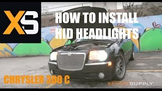 Chrysler 300 C How To Install HID Xenon (/w Wiring