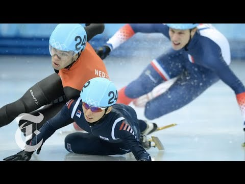 Sochi Olympics 2014 | Short Track Speedskating: 'Nascar on Ice' | The New York Times