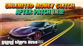 "GTA 5 Online ""SOLO Unlimited Money Glitch"" After Patch 1"