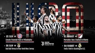 Juventus Summer Tour 2018: Powered by Jeep