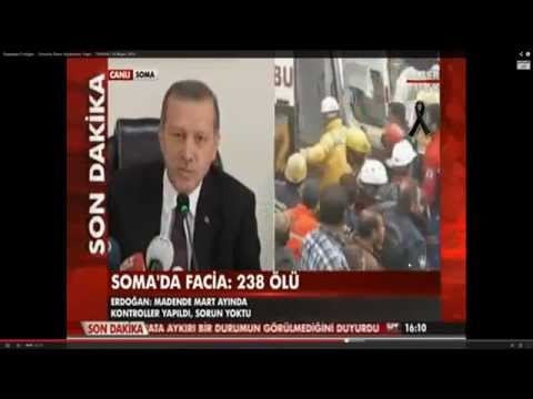 Turkish PM insults own people after mine disaster,real face of Recep Tayyip Erdogan 18/40