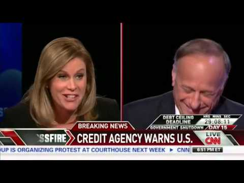 Crossfire's Stephanie Cutter Grilling 'Hard-Liner' Steve King: 'Have You Learned Nothing?'