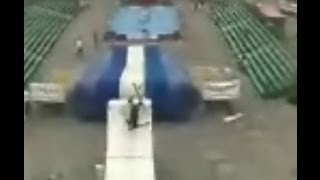[Epic Ski Jump Fail] Video
