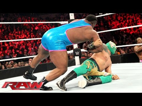 Sin Cara vs. Big E: Raw, December 28, 2015