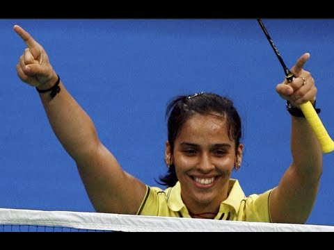Saina nehwal won most exciting match in ibl 2013 hyderabad HD