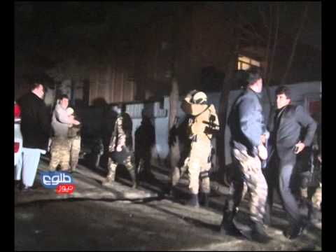 TOLOnews Kabul -  Lebanese Restaurant Attack 17 January 2014