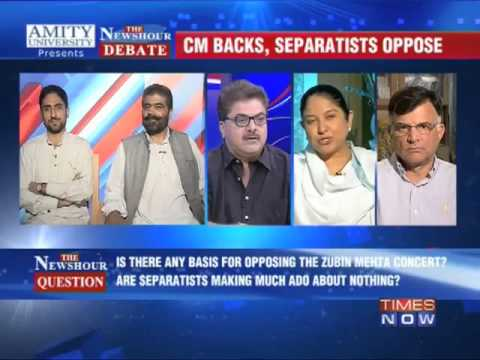 The Newshour Debate: CM backs concert, separatists oppose - Part 2