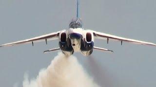 ブルーインパルス 超低空通過6連発! JASDF Blue Impulse Crazy Take Off