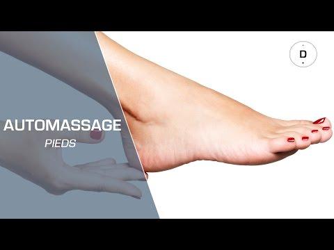 Comment faire un automassage des pieds ?