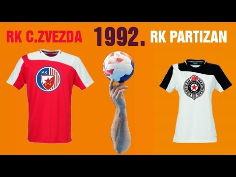 RK Crvena Zvezda – RK Partizan (1992. godina)