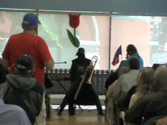 Darth Vader Salsa - Wagner Disco Routine at Village Senior Center