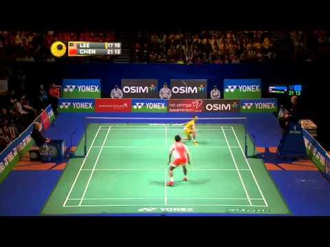 Giải cầu lông Toàn Anh 2013: Lee Chong Wei vs Chen Long