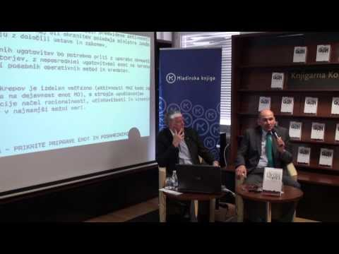 Janez Janša: predstavitev dopolnjene izdaje knjige OKOPI