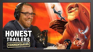 Lion King Director Reacts to Honest Trailer! - Honest Reactions w/ Rob Minkoff