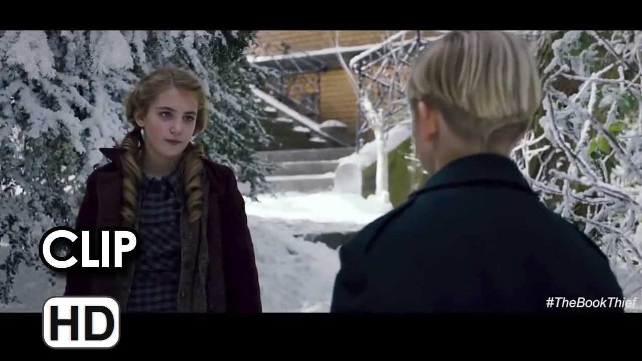 The book thief movie clip i m not stealing it 2013 geoffrey rush