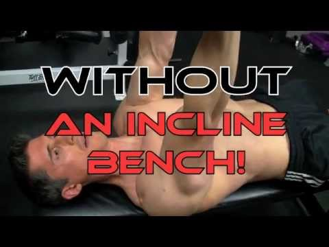 "HOME CHEST WORKOUT MYTHS II - The Flat Bench ""INCLINE"" PRESS!"