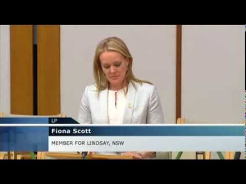 Fiona Scott MP - Condolence Motion for Nelson Mandela