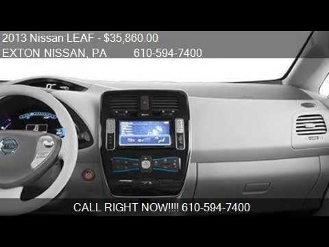 2013 Nissan LEAF 4dr HB SL Hatchback - for sale in Exton, PA