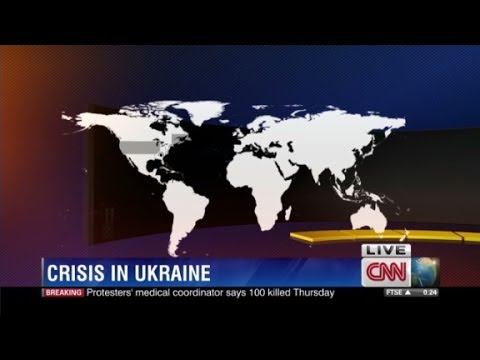What sparked the Ukraine crisis?