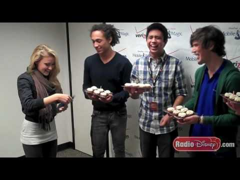Allstar Weekend Home Movie with Emily Osment on Radio Disney's NBT-Making It Big