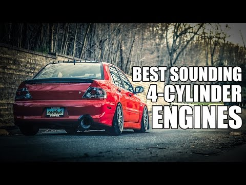 8 4-Cyl Engines That Sound KILLER