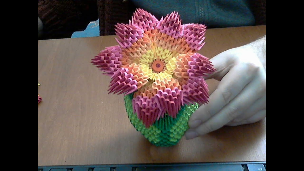 Scrapbook paper flower tutorial comousar scrapbook paper flower tutorial make a 3d paper flower for mightylinksfo