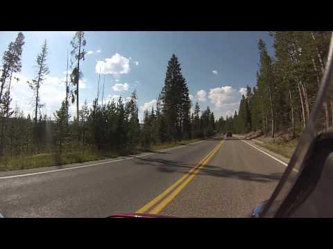 Biker Lawyer rides Yellowstone National Park 8-2013 part 4
