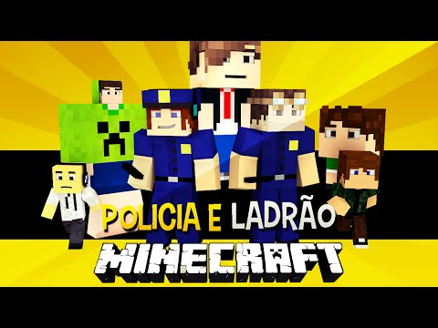 Policia e Ladrão - Cadeia de Mutantes !! Minecraft