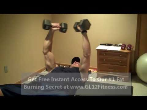 Chest Workouts with Dumbbells: Positions of Flex