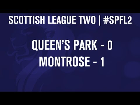 #SPFL League Two | Queen's Park 0-1 Montrose | 07/12/13