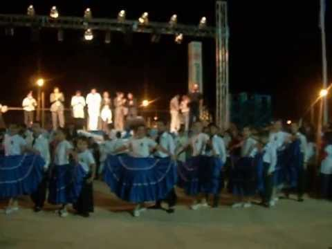 Teller de Danzas Folklricas Mboror.  183 Aniversario de la Cruz Corrrientes.
