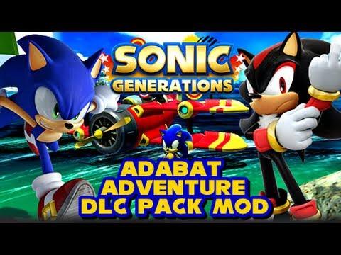 Sonic Generations PC - Adabat Adventure DLC Pack Mod - YouTube
