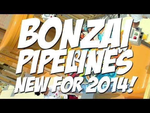 Bonzai Pipelines Promo | Hurricane Harbor, LA | NEW FOR 2014!