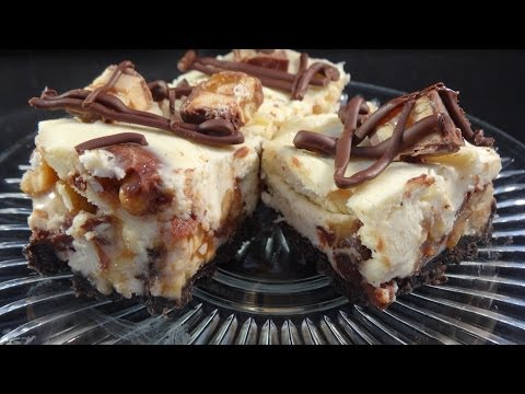 Snickers Bars Cheesecake (re-upload)