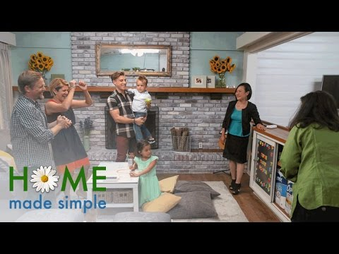Two Teachers Get A Kid-Friendly Living Room Upgrade | Home Made Simple | Oprah Winfrey Network